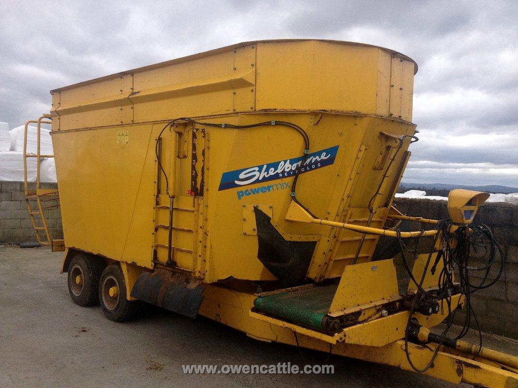 Shelbourne Mixer Wagon Twin Tub